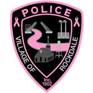 Pink Breast Cancer Chicago IL Fire Dept Patch v5 Illinois